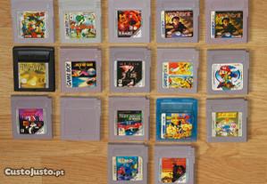 Game Boy: Vários jogos