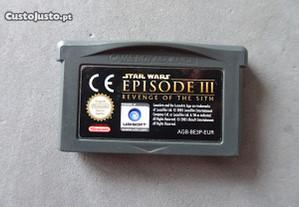 Jogo Game Boy Advance Star Wars Episode III