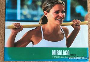 Minicatálogo MIRALAGO aparelhos ginástica ORIGINAL