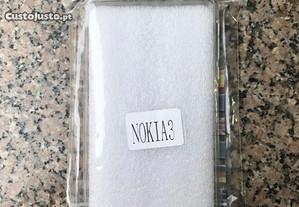 Capa de silicone para Nokia 3 - NOVO