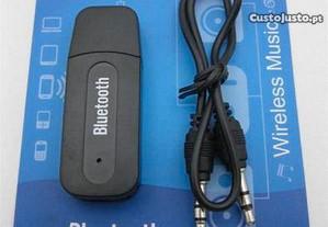 Adaptador USB Bluetooth Wireless Jack 3,5 Audio