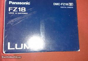 Panasonic Lumix DMC-FZ18 - Lente Leica