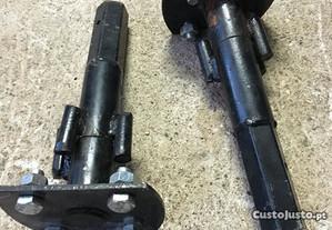 Par de canhões para motoenxada - Novas