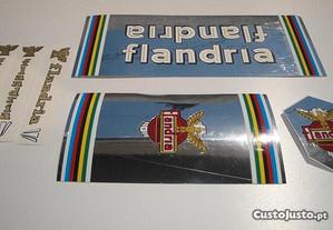 Flandria stickers autocolantes bicicleta aufkleber
