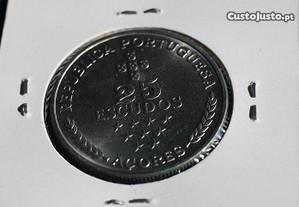 25$00 Açores 1980 Circulada