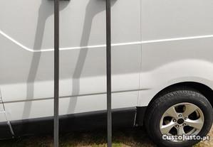Par de barras tejadilho Opel vivaro