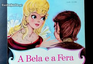A Bela e a Fera, conto infantil Disco Vinil de 7