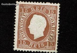 Selo Portugal 1870-76-Afinsa 38 MVLH/MNH