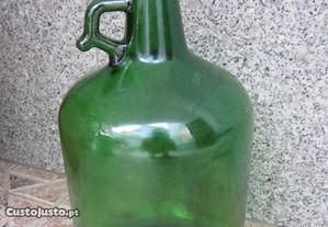garrafão antigo de vidro vintage