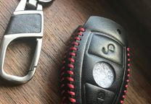 Porta Chaves Mercedes em Pele LUXO