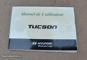 Manual instruções Hyundai Tucson