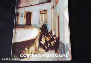 Folheto turístico Coimbra anos 60 colecção