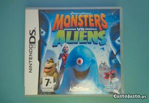 Jogos Nintendo DS - Monsters Vs Aliens