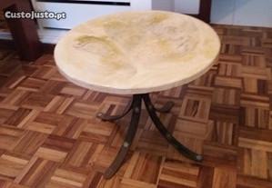Antiga Mesa Redonda Fabrico artesanal 50x40 cm