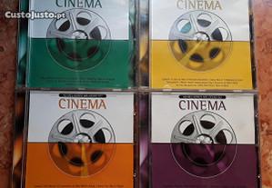CD's As Melhores Melodias do Cinema