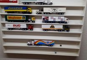 Coleção de miniaturas camiões Herpa