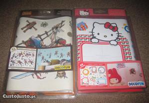 2 Packs de Wall Stickers para Decoração/Novos!