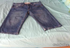 Bermudas ganga Levi's tam.16 modelo slim 511-novas
