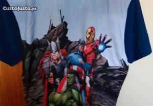 T- Shirt dos Avengers
