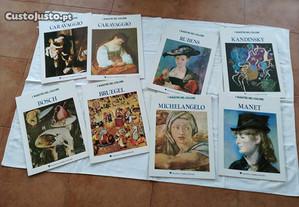 Arte - Livros sobre pintores internacionais