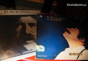 2 discos vinil- Pi de la Serra-No Olympia/A Madrid