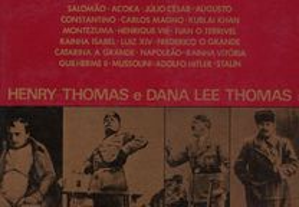 Vidas de Grandes Estadistas de Henry Thomas e Da