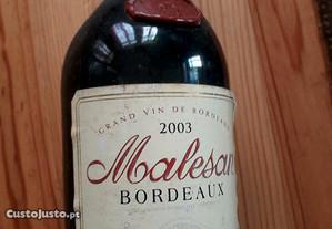 Vinho Bordeaux 2003
