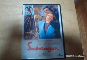 dvd original sabotagem