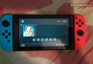Consola Nintendo Switch + Jogo pokemon Eevee