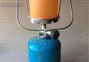 Lanterna Campingaz+garrafa recarregável(vazia)