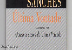 Última vontade (Vicente Sanches)