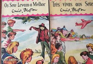 Livros da Colecção Os Sete
