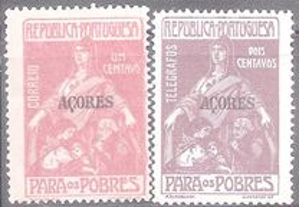 Selos Afinsa 5-6 Pobres Açores
