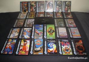 Capas (restauradas) de jogos Sega Saturn