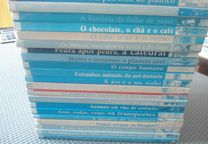 21 volumes da Colecção Descobrir (década de 90)