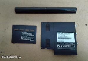 Tampas para Toshiba NB250-101 - Usadas