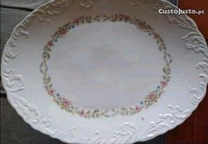 Travessa /Prato de porcelana