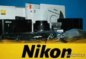 Nikon 1 J1 - Muito bom estado