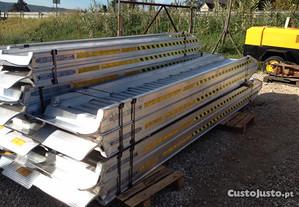 Rampas de alumínio 4M x 11.400Kg