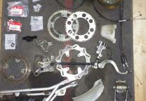 Honda CRF 150R material
