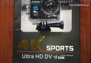 Action Cam Andoer 4K Wifi Várias cores Nova