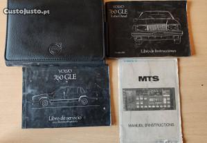 Volvo 760 Series - Manual de Proprietário