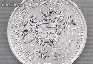 Moeda 200 Escudos 1996 Soberba