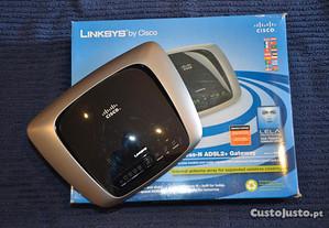 Linksys N Ultra Range Plus Wireless N ADSL2+