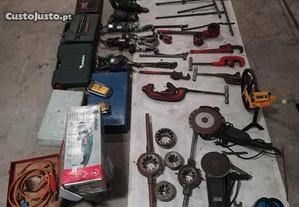 Diversas peças de ferramentas