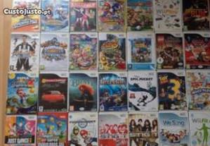 Jogos da consola Wii 20 cada,