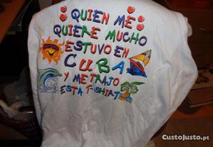 Camisola Comprada em Cuba Muita Linda Of.Envio