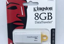 Pen USB Kingston 8GB - DataTraveler G4-Novo/selado