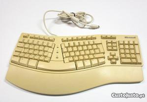 Teclado ergonómico Microsoft Natural Keyboard Elit