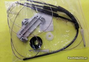 Kit de cabos e clip do elevador traseiro Bmw E39